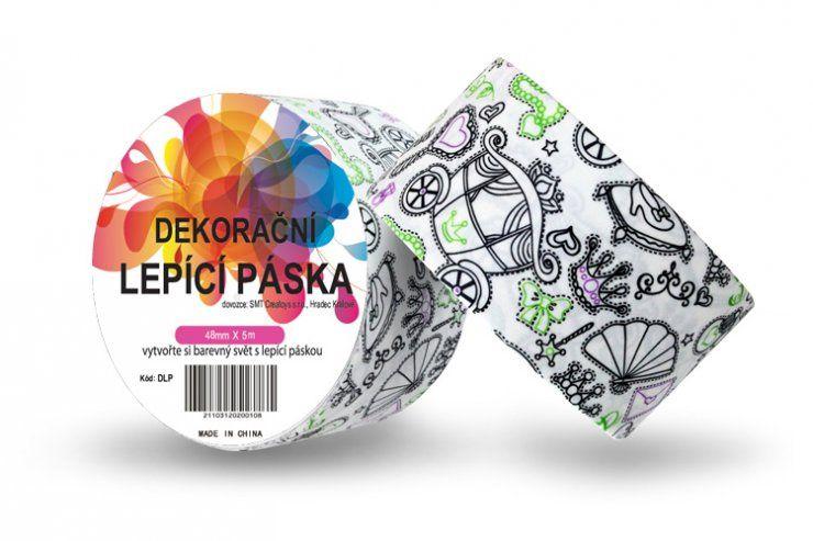 Duct Tape - dekorační lepicí páska - 5m x 48mm - PRINCEZNOVSKÉ ostatní