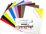 Filc A4- sada 10listů mix barev, 180g, samolepící