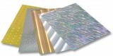 Holografický karton - 230 g/m2 - jednostranný, 25 x 35 cm, 5 listů v 5 motivech