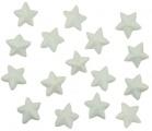 Hvězdy z polystyrenu 3,5cm, 16ks