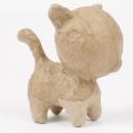 Kartonový předmět malá stojící kočka 5x5x6,5 cm