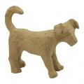 Kartonový předmět pes Jack Russel 3,5x11x8 cm