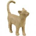 Kartonový předmět procházející se kočka 3,5x11x12 cm