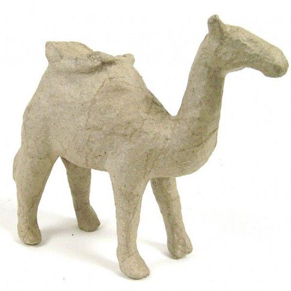 Kartonový předmět velbloud 12,5x14x4 cm