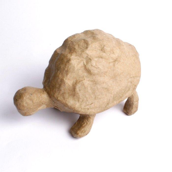 Kartonový předmět želva 14x10x9cm DÉCOPATCH