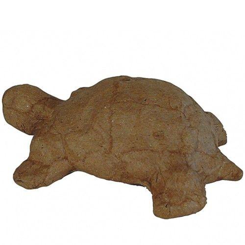 Kartonový předmět želva 8,5x11x3,5 cm DÉCOPATCH