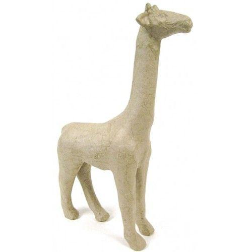 Kartonový předmět žirafa 7x19x28cm