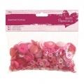 Knoflíky mix (250g) Růžové