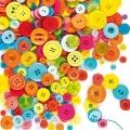 Knoflíky - výhodné balení mix, 500ks