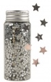 Konfety mini hvězdičky v tubě stříbrné, 55 g
