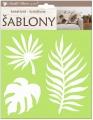 Kreativní šablony - traviny 18 x 17,5 cm