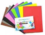 Pěnovka moosgummi - A4- sada 10listů mix barev