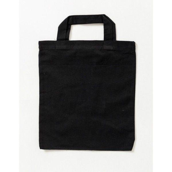 Plátěná taška malá 26x22cm černá ostatní