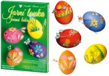 Sada k dekorování vajíček - jarní louka