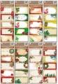 Samolepicí jmenovky na dárky se zlatou ražbou 5 ks 22 x 8,5 cm
