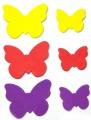 Samolepky z pěnovky - Motýlci 60 ks SMTCreatoys