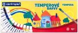 Temperové barvy Centropen 12 ks 12ml
