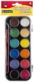 Vodové barvy Centropen 12 ks 30mm + štětec