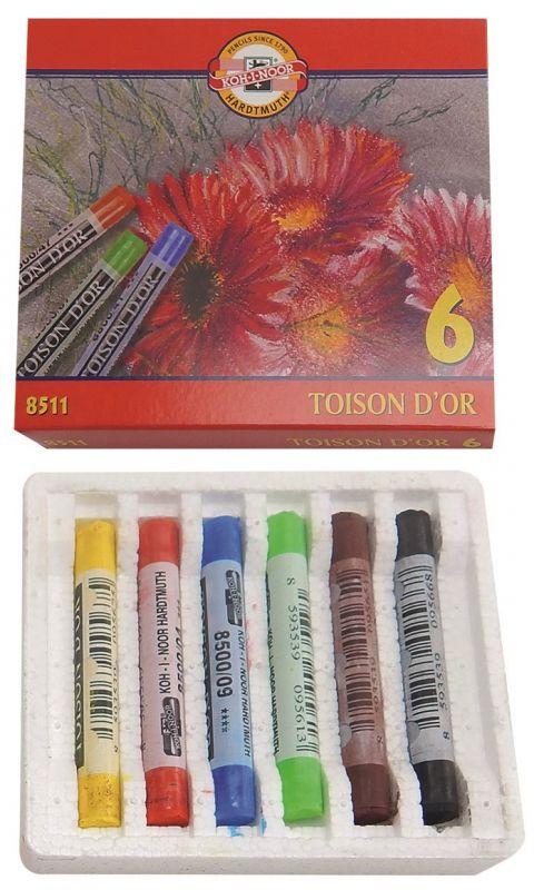 Souprava prašných školních pastelů KOH-I-NOOR 8511