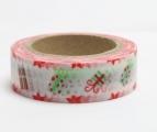 Washi Tape - dekorační lepicí páska - 10mx15mm - DÁREČKY