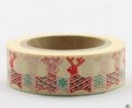 Washi Tape - dekorační lepicí páska - 10mx15mm - ZAMILOVANÍ SOBI