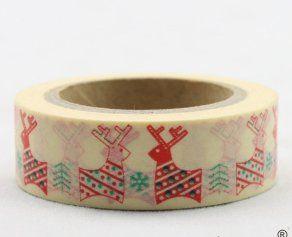 Washi Tape - dekorační lepicí páska - 10mx15mm - ZAMILOVANÍ SOBI ostatní