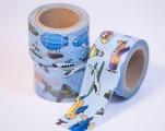 Washi Tape - dekorační lepicí páska - 10mx30mm - LETADLA