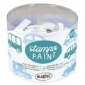 Auta - pěnová malovací razítka StampoPaint sada (12ks)