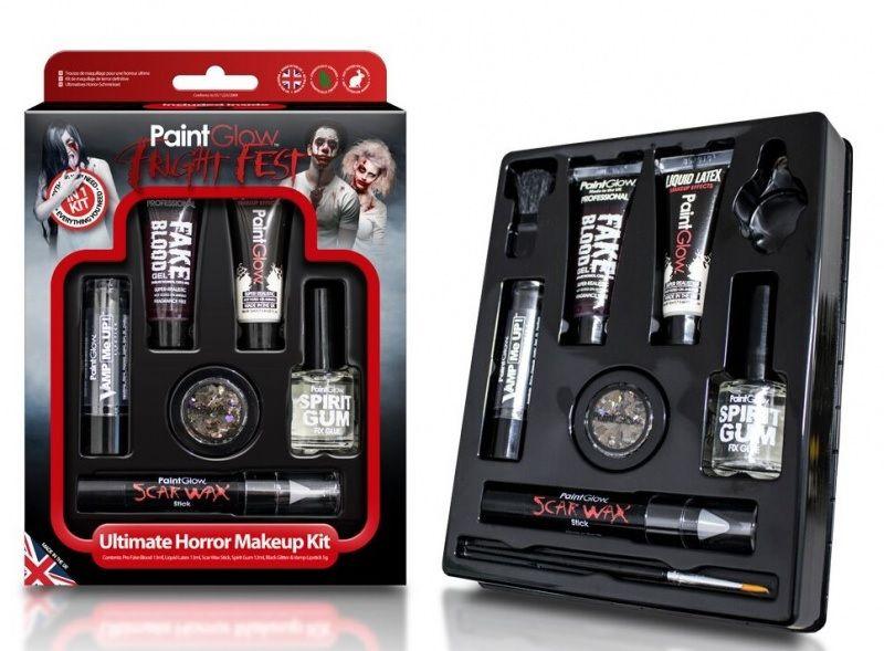 Barvy na obličej hororové líčení Ultimate horor makeup kit! PaintGlow
