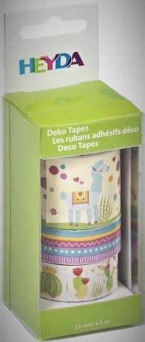 Deco Tape - sada Lama 3ks HEYDA