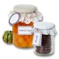 Dekorativní sada na marmelády, kompoty - 13 dílů - béžová/přírodní Folia