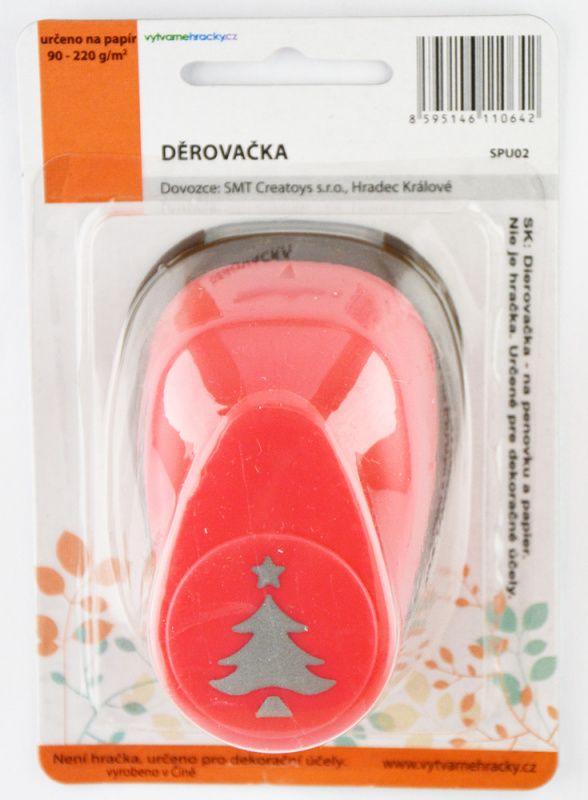 Děrovačka (razidlo, raznice) 25 mm - Vánoční strom I