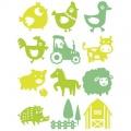 Farma - pěnová malovací razítka StampoPaint sada (12ks) ALADINE