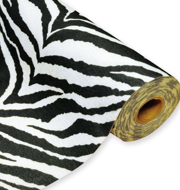 Filc v roli 0,45 x 5 m, 160 g, Zebra, CENA ZA ROLI 5 m PLAYBOX
