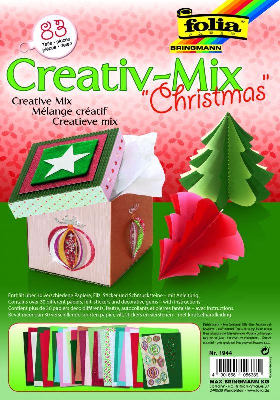 Kreativní sada - Vánoce- 83 dílů