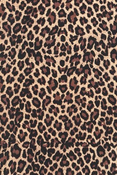 Papír Décopatch - Hnědá leopardí kůže