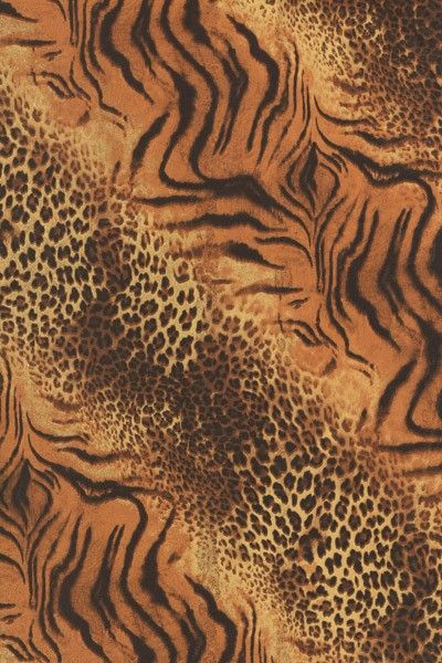 Papír Décopatch - Hnědá tygří a gepardí kůže DÉCOPATCH