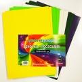 Pěnovka moosgummi - A4- sada 10listů mix barev velikonoční