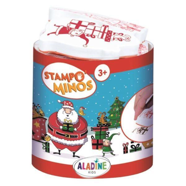 Razítka StampoMinos, Vánoce 11 ks ALADINE